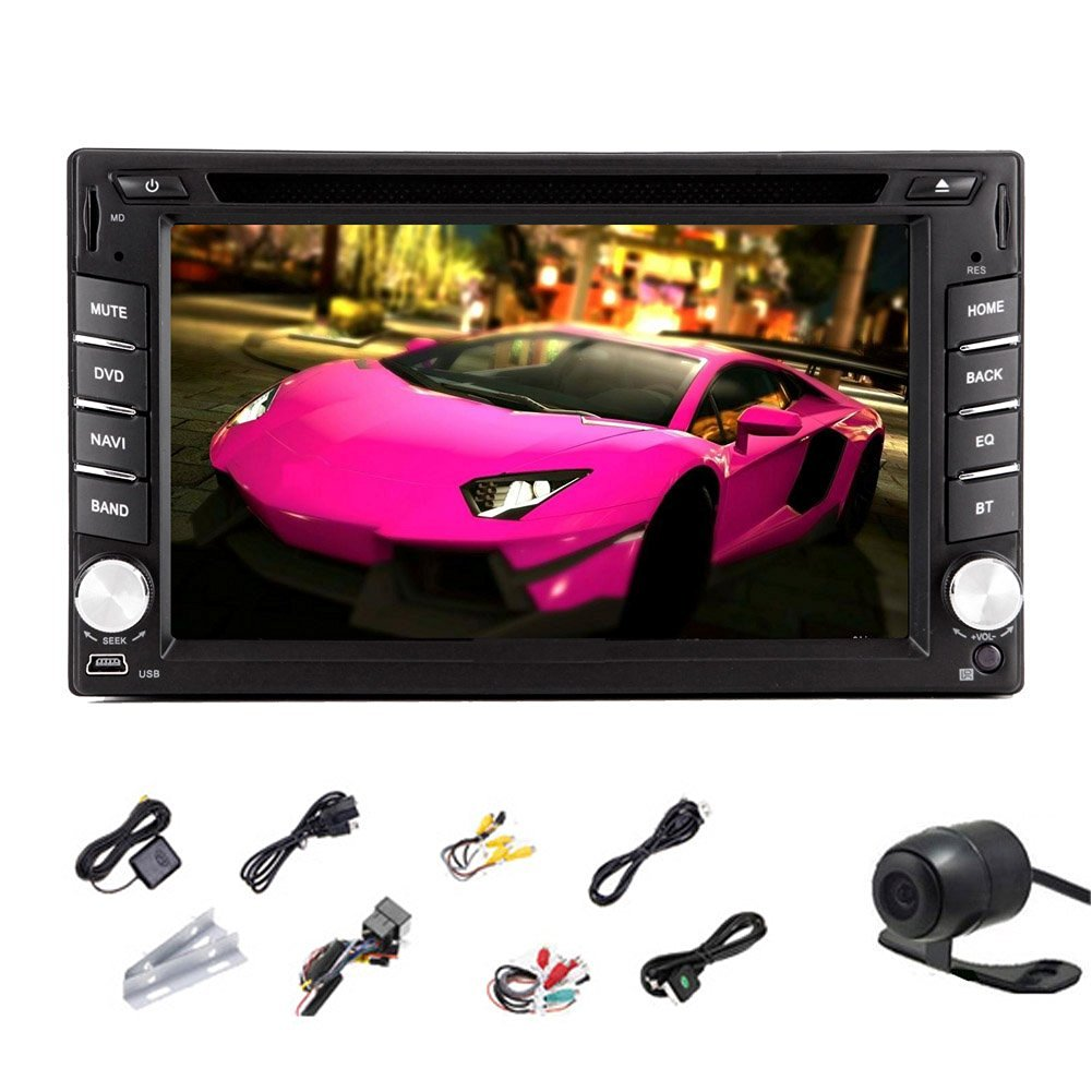 Android 4.2 6.2 Inch Automotive in Dash Universal Double 2 Din Car Stereo Rad...