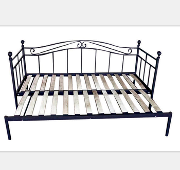 Terrific Hot Sale Sofa Cum Bed Indoor Metal Iron Daybed With Wood Slats Buy Indoor Daybed Daybed Couch Sofa Single Daybed Product On Alibaba Com Alphanode Cool Chair Designs And Ideas Alphanodeonline