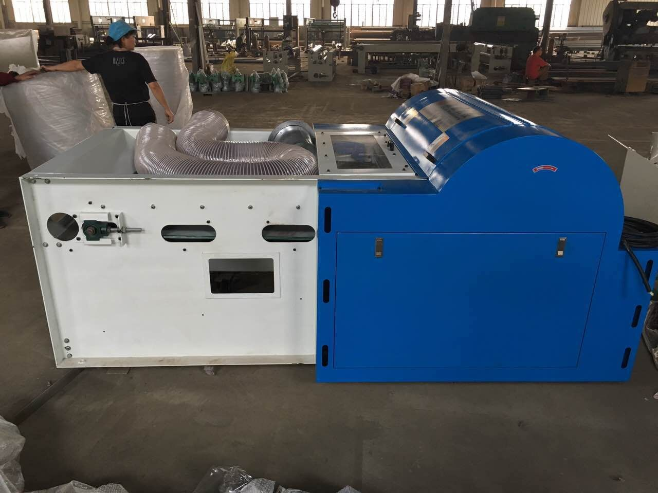 automatic high strength wool feeder auto pillow filling machine with cheap price