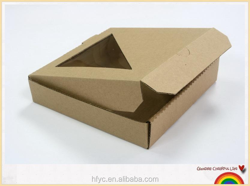 Hecho En China Impresión Personalizada Kraft Caja De Pizza Para La ...