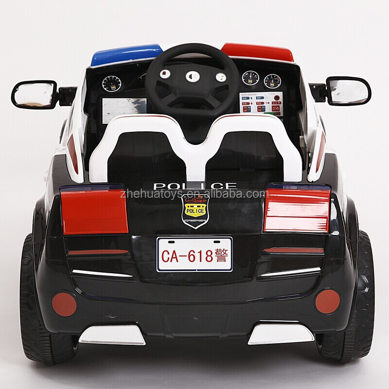 2015 newest 2 seater kids electric carpolice car toy for baby