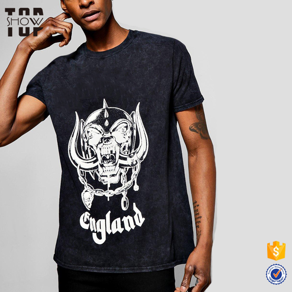 OEM service urban streetwear wholesale screen printed t-shirts 100% cotton