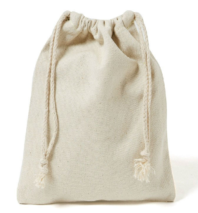 Wholesale Customized Eco Cotton Canvas Natural Calico Drawstring ...