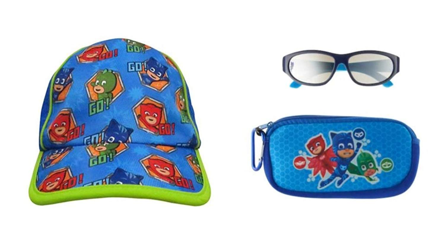 50b208c6b6cd Get Quotations · PJMasks Characters Catboy Gecko Owlette UPF 50+Baseball Cap  Plus Plus 100% UV Protection