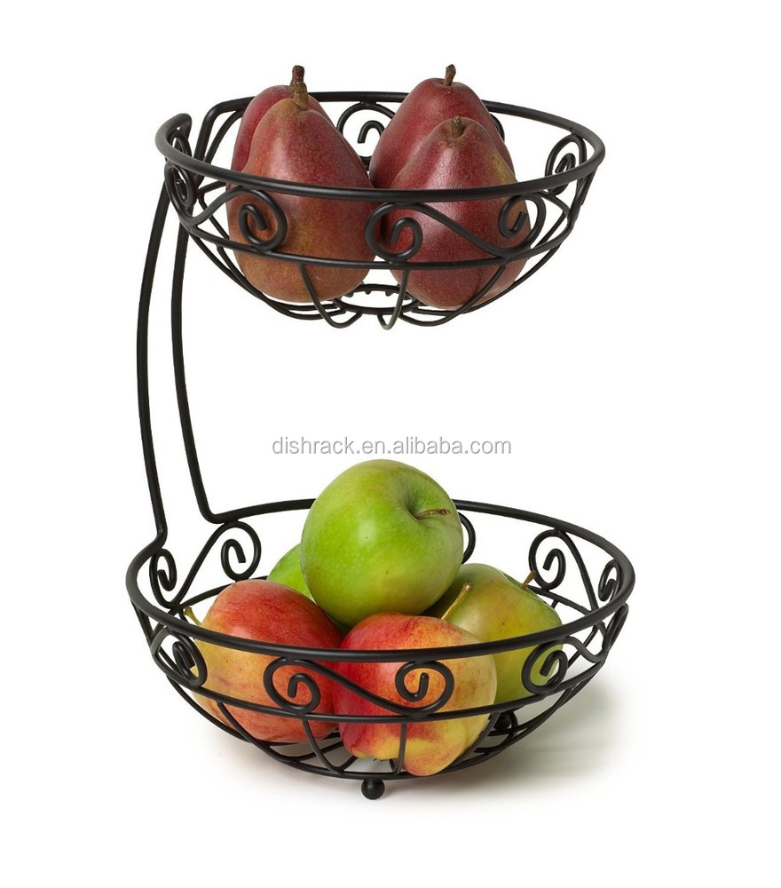 japanese plastic kitchen storage basket rack vegetable fruit