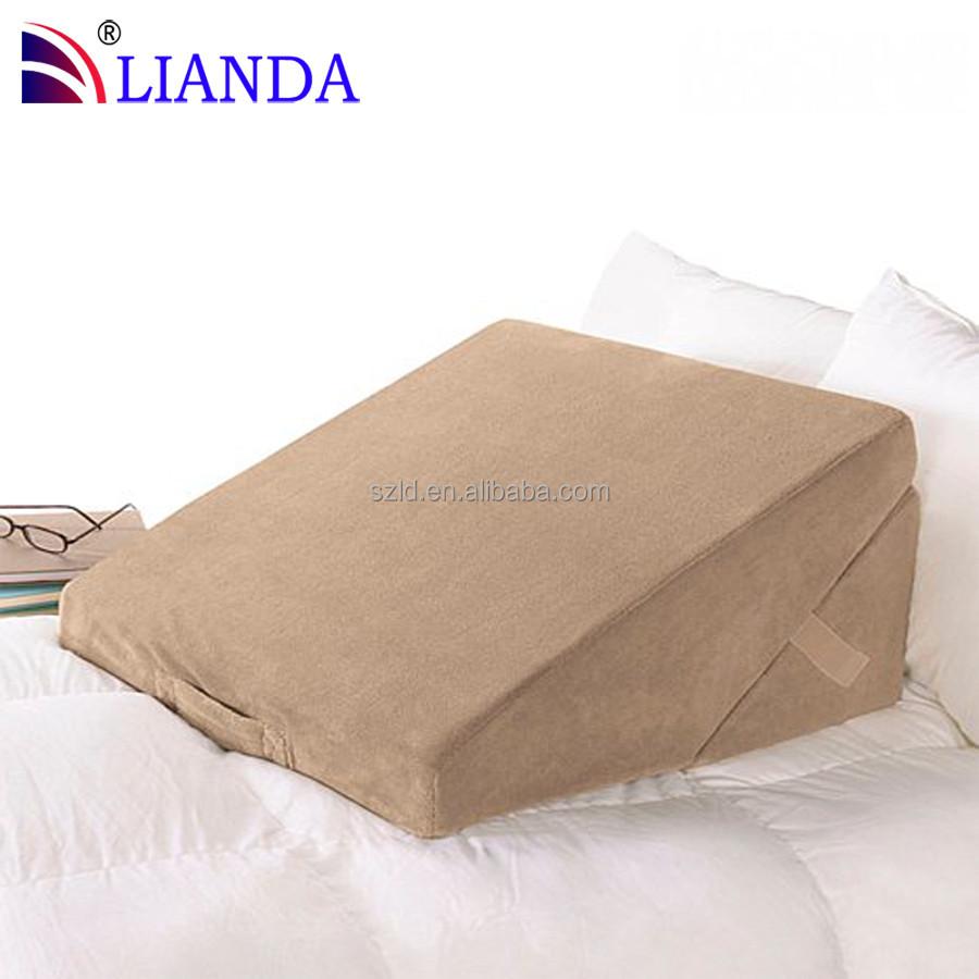 retour soutien lecture wedge oreiller coin lit pour anti reflux acide oreiller id de produit. Black Bedroom Furniture Sets. Home Design Ideas