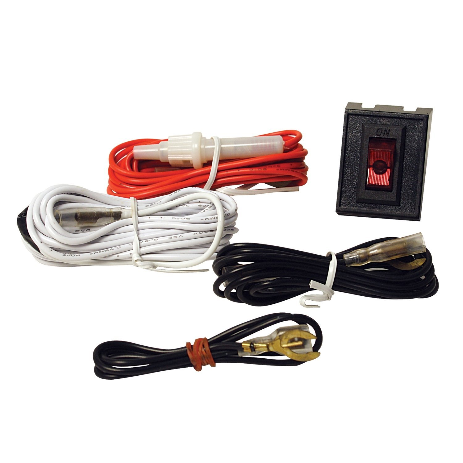 Get Quotations · Pilot Automotive NV-HARN12 Wiring Harness Kit w/ Rocker  Switch Dimensions: 0.5 x