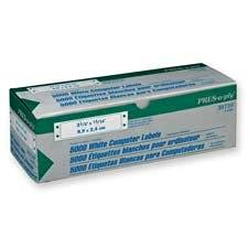 "Avery Consumer Products : Pin Fed Labels, 3-1/2""x15/16"", 5000/BX, White -:- Sold as 2 Packs of - 5000 - / - Total of 10000 Each"