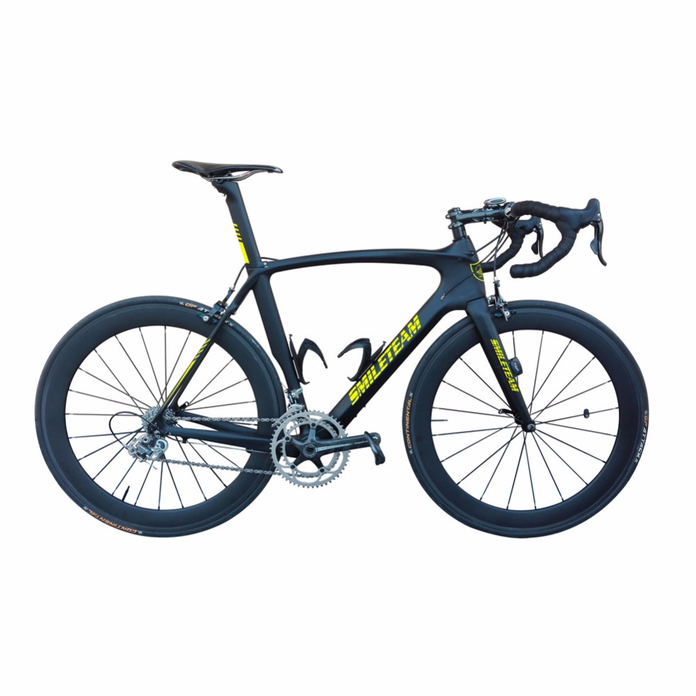 Smileteam 700C Full Carbon Fiber Road <strong>Bike</strong> 22 Speed Toray T800 Racing Carbon Complete <strong>Bike</strong> Wholesale
