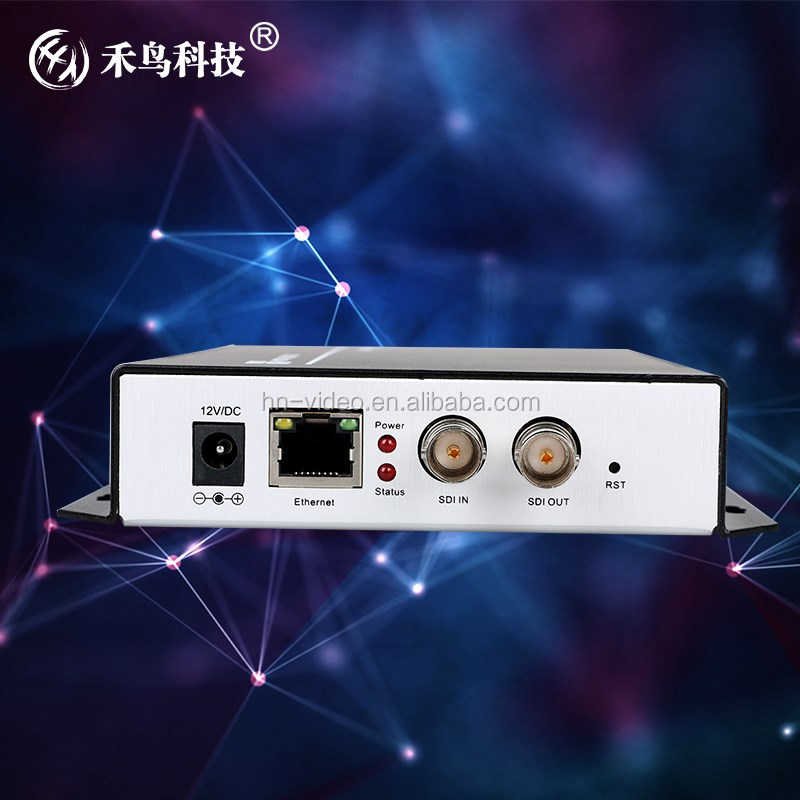 HD SDI encoder for IPTV ,supports SDI H.264 encoding