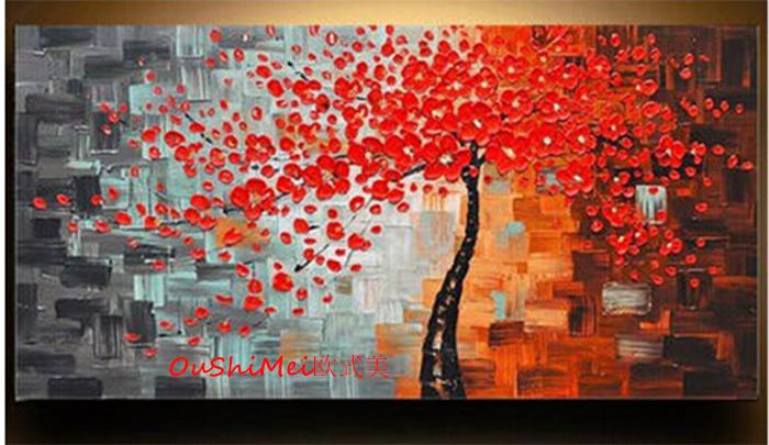 Dipinto a mano quadri moderni su tela pittura a olio for Quadri a parete