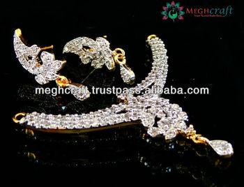 American diamond mangalsutra pendant set women mangalsutra american diamond mangalsutra pendant set women mangalsutra pendants indian traditional mangalsutra jewelry indian aloadofball Images