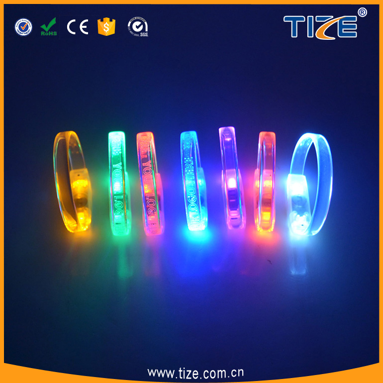 2017 Hot selling Party Accessories Led Fashing Bracelet