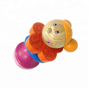 Funny Baby Wooden Teething Ring Toys - Buy Wooden Teething ... c32d2ff8a5bd