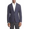 Printed Fabric Fashion Custom Men Jacket(shj21)