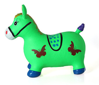 child animal inflatable toy jumping horse with non-toxic PVC material