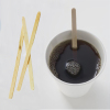 Biodegradable Wrapped Disposable Wooden Cocktail Coffee Stirrer