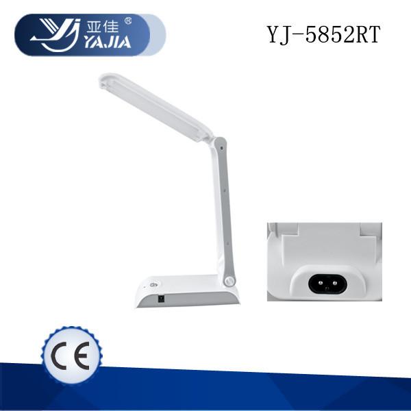Yajia luce yj 5852rt abs ricaricabile senza fili ha condotto la lampada da tavolo solare - Lampada da tavolo senza fili ...
