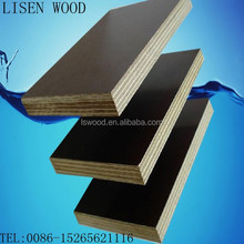 18mm Thickness WBP glue Brown film faced marine plywood,18mm Waterproof Phenolic Board