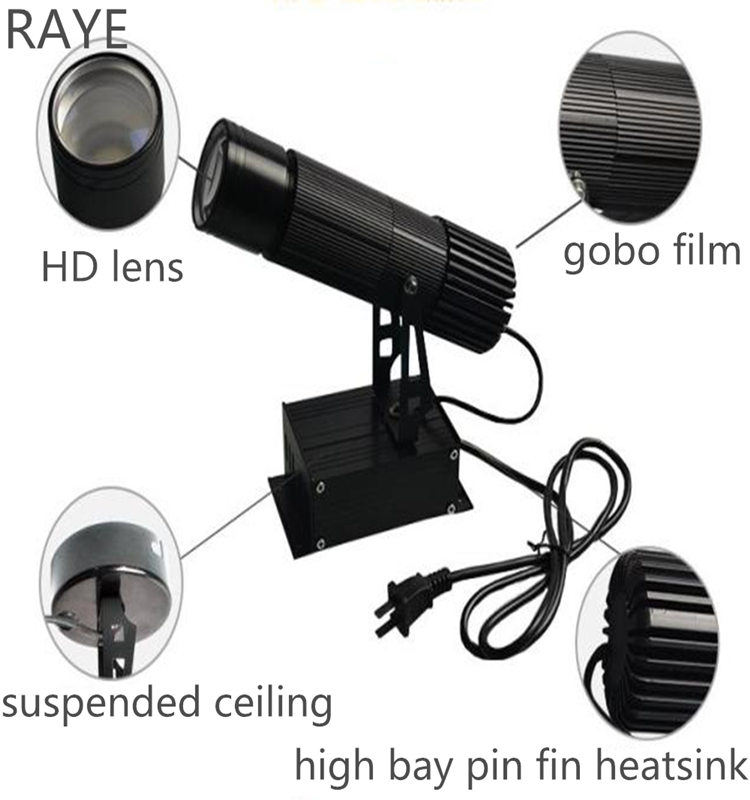 Gobo Projector 50w Gobo Led Moving Head Light Manufacture From ...