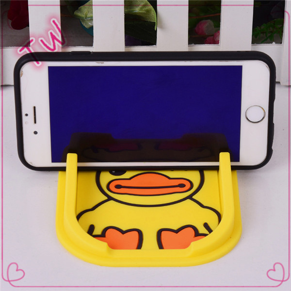 Funny animal shaped cell phone accessory display,silicone cell phone case display stand,Spain cheapest phone holder for car