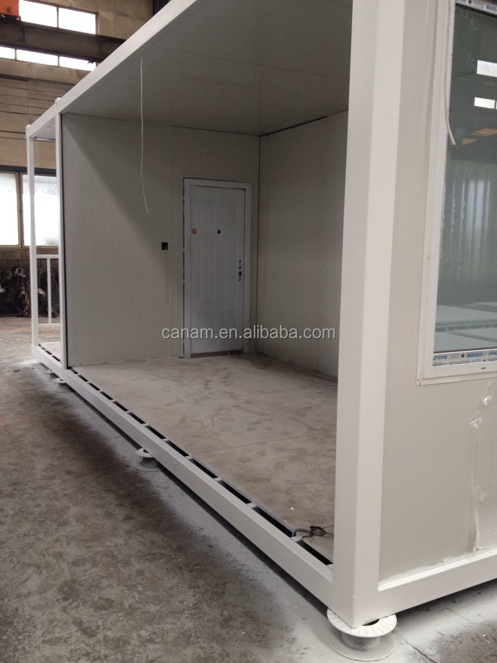 20 ft Low cost flat pack container house in south africa