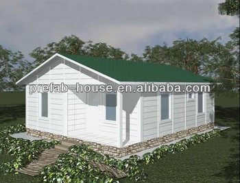Low cost prefabricated steel frame house buy mobile for A frame home cost