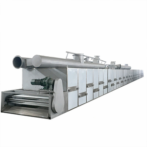 Food Dehydrator Sea Food Multi Layer Mesh Belt Hot Air Circulation Dryer/ Conveyor Drying Machine / Belt Dehydrator