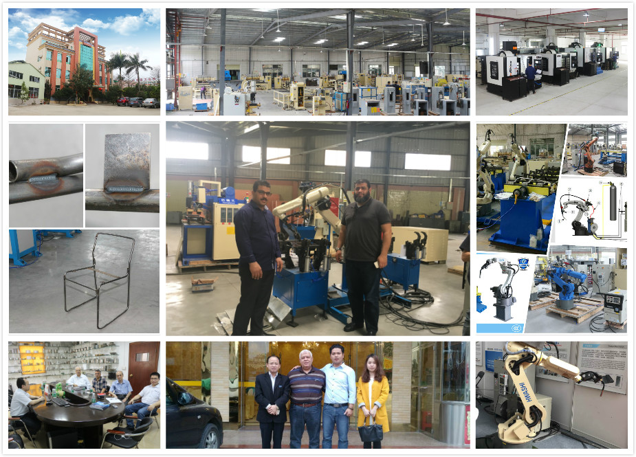 CNC Industrial Welding Robot / Robotic Arm 6 axis with Servo Motor -
