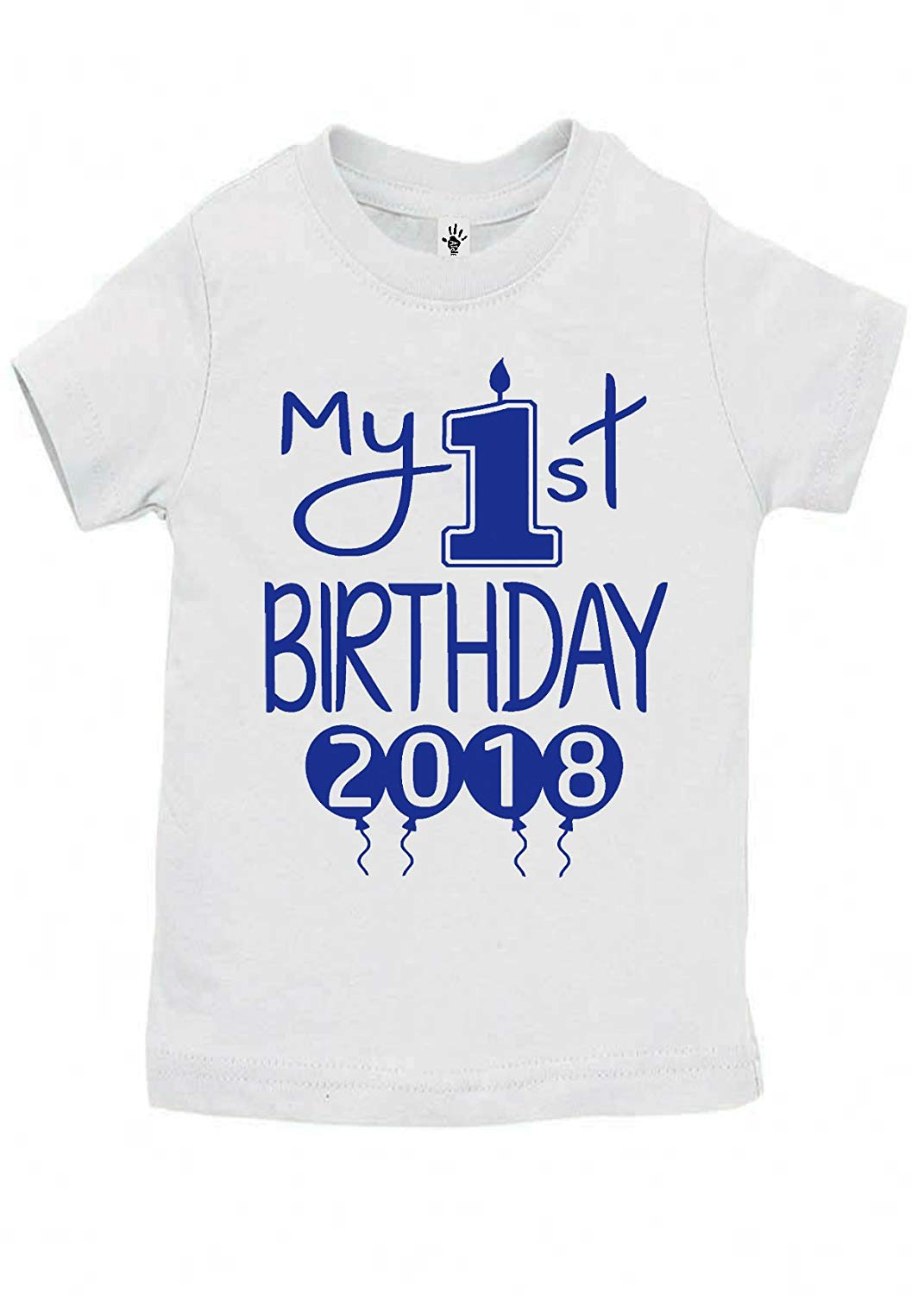 Get Quotations Aidens Corner Baby Boy My First Birthday Handmade Bodysuits Shirts