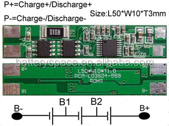 Protect Circuit Module For 11.1v Li-ion/li-polymer Battery Pack ...