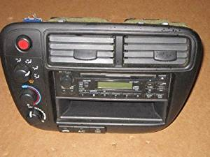 99 00 HONDA CIVIC CLIMATE CONTROL RADIO BEZEL CD PLAYER OEM