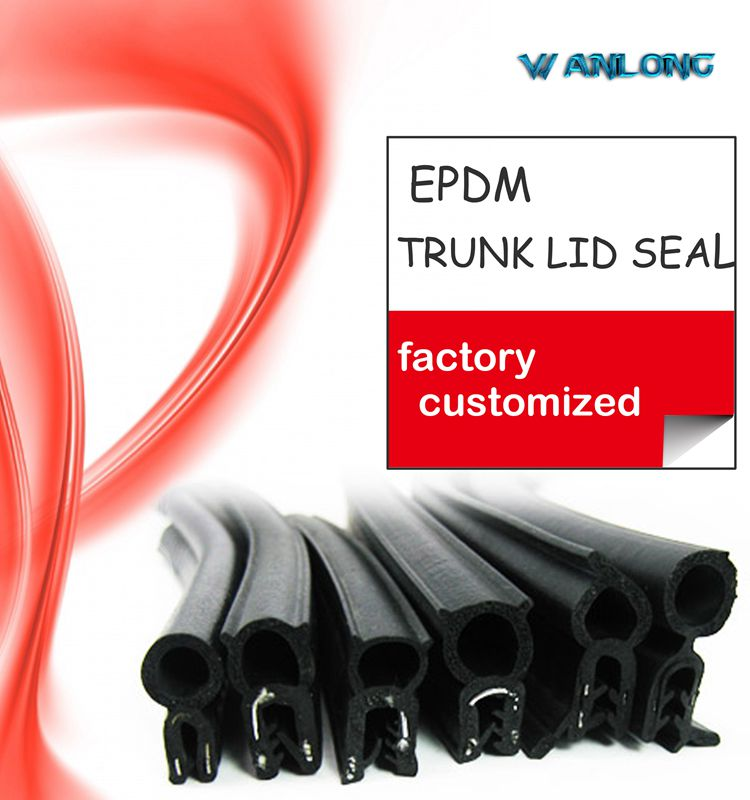 Trunk Edge Lock Rubber Weatherstrip