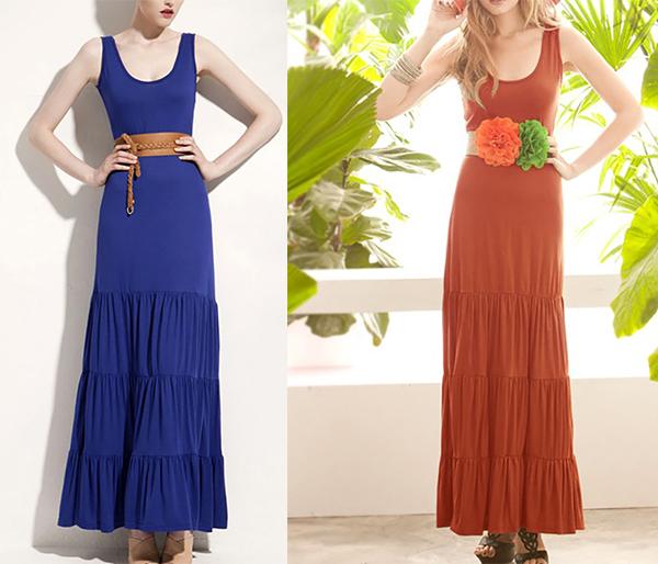 Design maxi dress muslimah