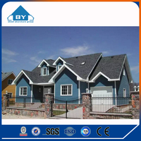 High-quality Low cost luxury light Steel Structure prefab modern Villa for sale (BY-I501)