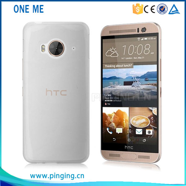 ultra-thin transparent tpu case for HTC ONE ME, back cover for HTC ONE ME . mobile phone case cover for HTC ONE ME