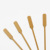 Racket/Paddle bamboo skewers Flat wooden sticks Kabob BBQ skewers