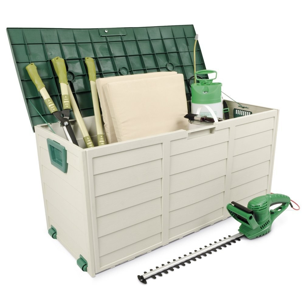 Plastic Outdoor Storage Cabinets Chest