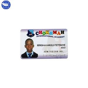School Student all in one id card F08 chip with personalized information