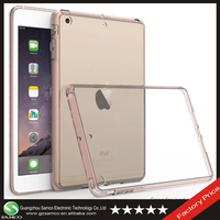 Samco Shockproof Drop Resistance Transparent Acrylic OEM Cover Case for iPad Mini