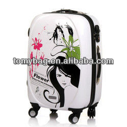 Lightweight Patterned fashion Design Luggage Suitcase
