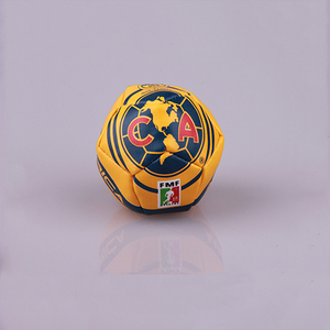 Newest design logo printed kick ball footbag and 5cm 12 panels football ball sack