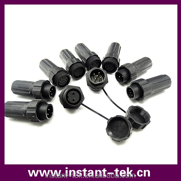 Hot sale 3 pin coaxial cables connector