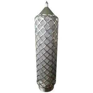 5Micron 316 Stainless Steel Pleated Metal Wire Mesh Filter Element
