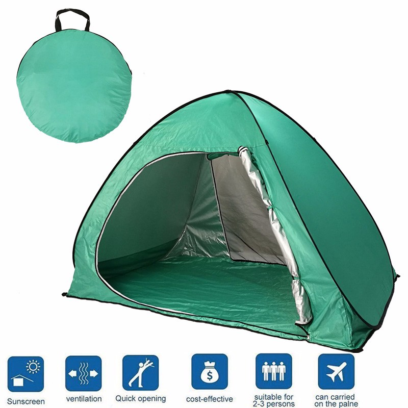 huge discount fcc08 58543 Pop Up Cabana Beach Shelter Infant Sand Tent Sun Shade Outdoor Uv One  Person Pop Up Tent - Buy One Person Pop Up Tent,2017 Outdoor Camping  Tent,Fun ...