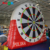 PVC bag carton popular crazy outdoor football sport golf game inflatable soccer dart board