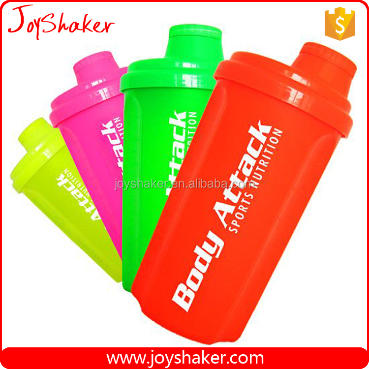 THE BEST RATED REVIEWS Shaker Bottle from JoyShaker, with mesh lid to mix lumps and to stop ice cubes when drinking,24 Ounce