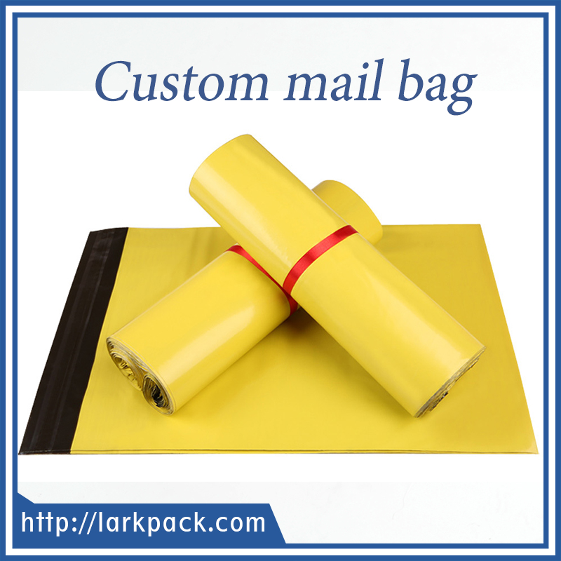 Colored poly waterproof mailer envelopes express plastic shipping mailer bags
