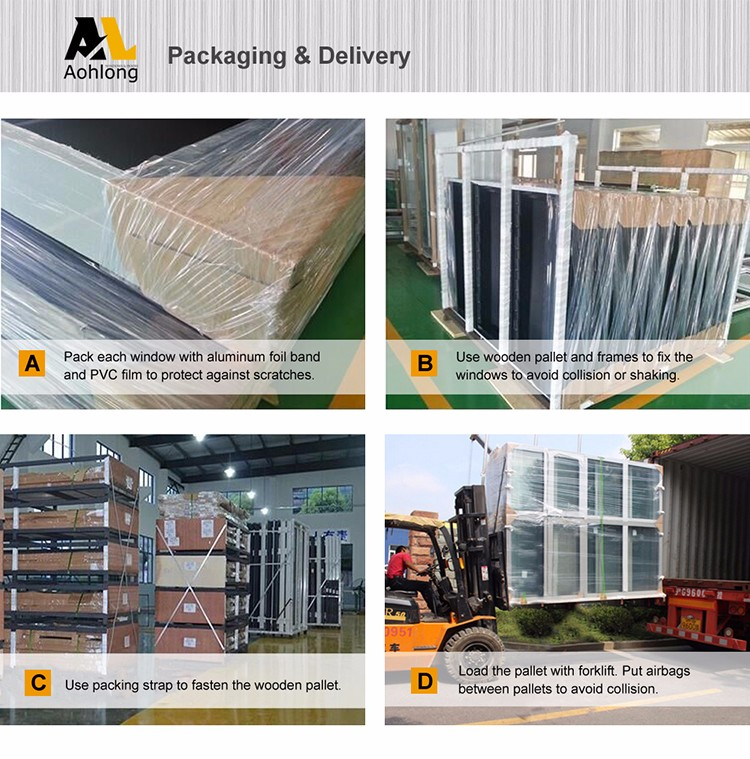 Prefabricated Aluminum Windows And Doors/Sliding Glass Door Window Tint