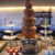 Electric Industrial 7 tier chocolate fountain machine chocolate fountain stand stainless steel